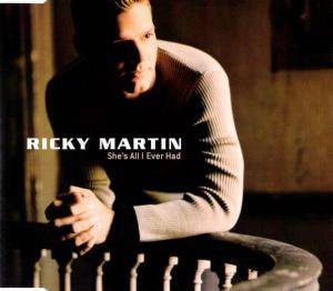 Ricky Martin: She's All I Ever Had - Cover