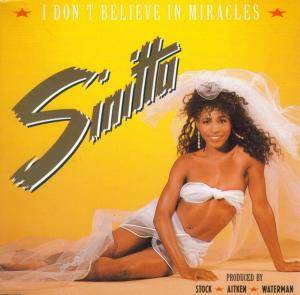 Sinitta: I Don't Believe In Miracles - Cover