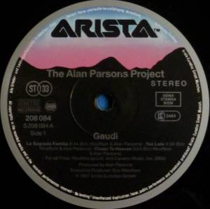 The Alan Parsons Project: Gaudi (LP) - Bild 3