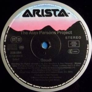 The Alan Parsons Project: Gaudi (LP) - Bild 4