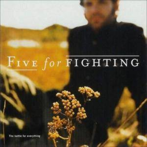 Cover - Five For Fighting: Battle For Everything, The