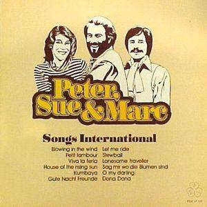 Cover - Peter, Sue & Marc: Songs International