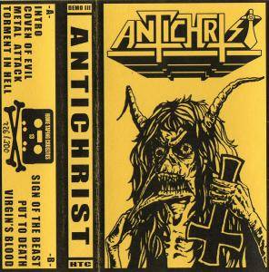 Antichrist: Crushing Metal/Put To Death Demo - Cover