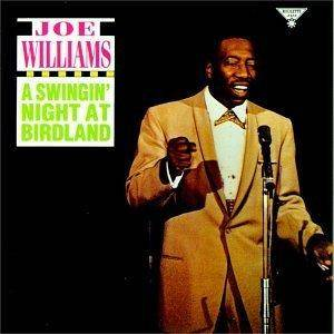 Cover - Joe Williams: Swingin' Night At Birdland, A