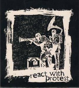 React With Protest 2011 - Cover