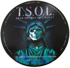 T.S.O.L.: Life, Liberty & The Pursuit Of Free Downloads - Cover