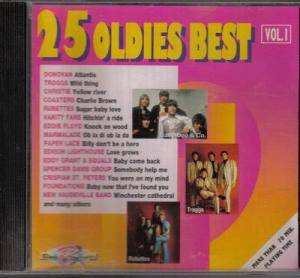 Cover - Ivy League, The: 25 Oldies Best Vol. 1