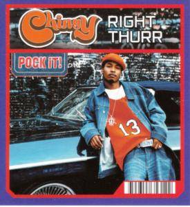 Cover - Chingy: Right Thurr