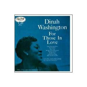 Cover - Dinah Washington: For Those In Love