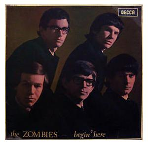 Zombies, The: Begin Here - Cover