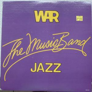 War: Music Band Jazz, The - Cover