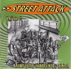 Street Attack Volume 5 - Cover