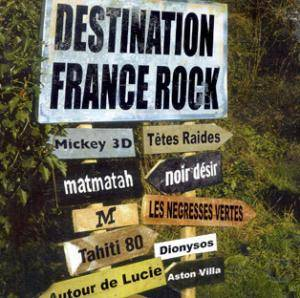 Cover - Bertrand Burgalat: Destination France Rock