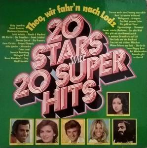 Theo Wir Fahrn Nach Lodz 20 Stars Mit 20 Super Hits Lp