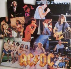 AC/DC: Rare & Greatest - Cover