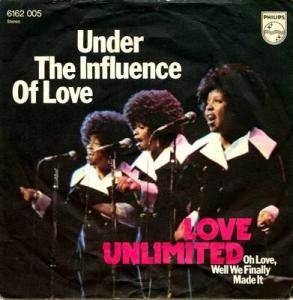 Cover - Love Unlimited: Under The Influence Of Love