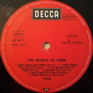 Them: The World Of Them (LP) - Bild 4