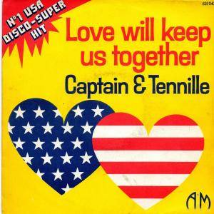 Cover - Captain & Tennille: Love Will Keep Us Together