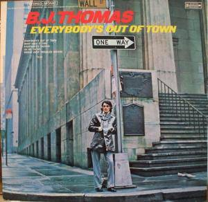 Cover - B.J. Thomas: Everybody's Out Of Town