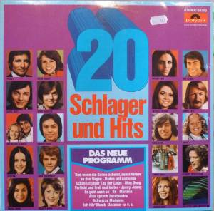 Cover - Hanna Aroni: 20 Schlager Und Hits