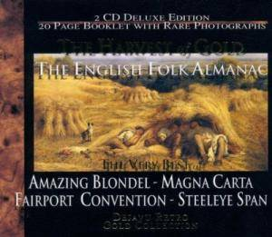 Fairport Convention: Harvest Of Gold - The English Folk Almanac, The - Cover