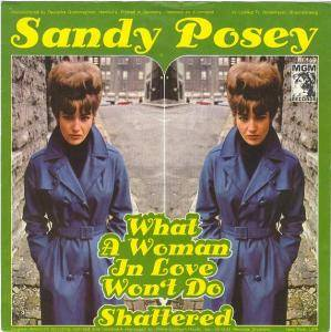 Cover - Sandy Posey: What A Woman In Love Won't Do