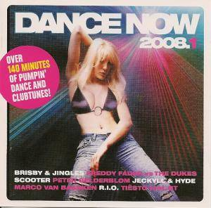 Cover - Brisby & Jingles: Dance Now 2008.1