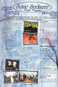 Sonic Seducer - Cold Hands Seduction Vol. 21 (2002-10) (CD) - Bild 7