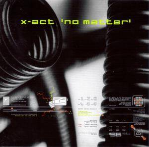 Cover - X-Act: No Matter
