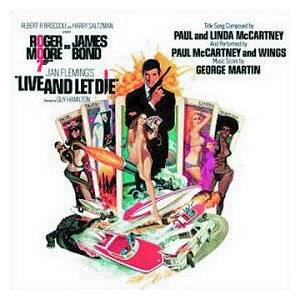 George Martin: Live And Let Die - Original Motion Picture Soundtrack - Cover