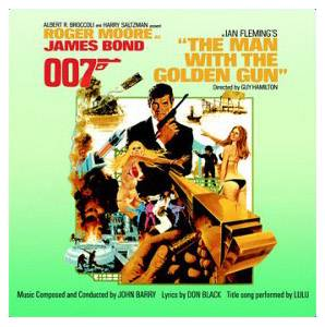 John Barry: Man With The Golden Gun, The - Cover