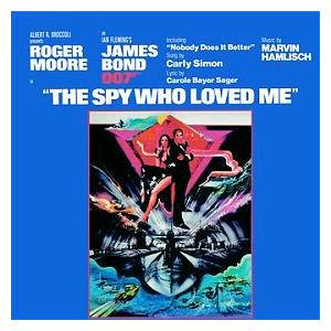 Carly Simon: Spy Who Loved Me, The - Cover