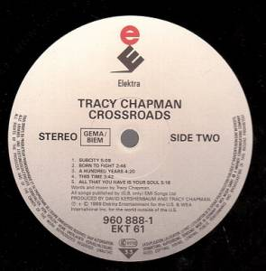 Tracy Chapman: Crossroads (LP) - Bild 4