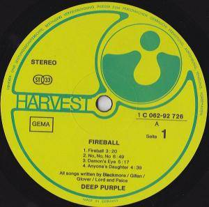Deep Purple: Fireball (LP) - Bild 5
