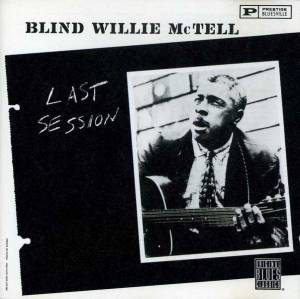Cover - Blind Willie McTell: Last Session
