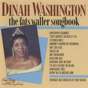 Cover - Dinah Washington: Fats Waller Songbook, The