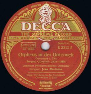 Jacques Offenbach: Orpheus In Der Unterwelt - Cover