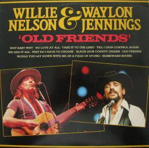 Cover - Waylon Jennings & Willie Nelson: Old Friends