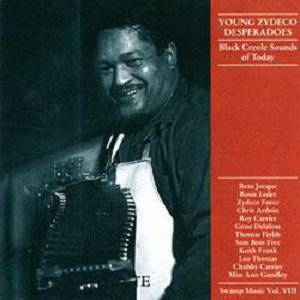 Cover - Chris Ardoin: Swamp Music Vol. VIII: Young Zydeco Desperadoes - Black Creole Sounds Of Today