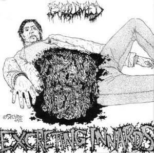 Cover - Exhumed: Excreting Innards