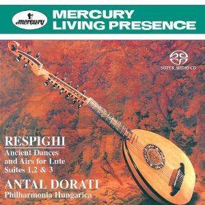 Ottorino Respighi: Ancient Dances And Airs De Luth - Cover