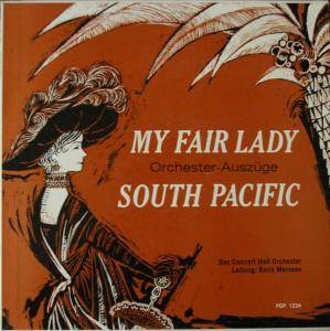 Cover - Frederick Loewe: My Fair Lady / South Pacific
