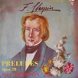 Frédéric Chopin: 24 Preludes Op. 28 - Cover