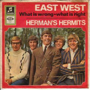 Herman's Hermits: East West - Cover