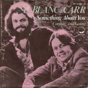 Cover - LeBlanc & Carr: Something About You