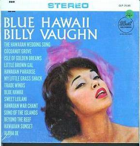 Cover - Billy Vaughn: Blue Hawaii