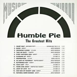 Humble Pie: The Greatest Hits (CD) - Bild 2