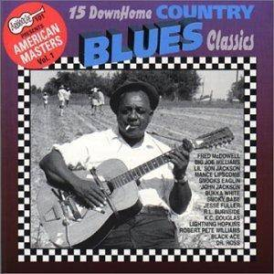 Cover - Jesse Fuller: 15 Down Home Country Blues Classics