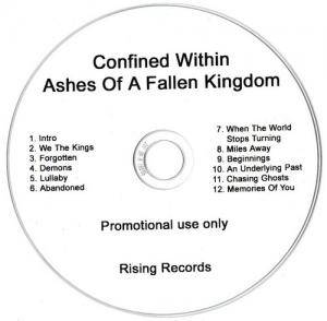Confined Within: Ashes Of A Fallen Kingdom - Cover