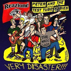 Cover - Peter And The Test Tube Babies: Very Disaster